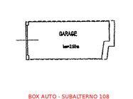 Immagine n0 - Box auto seminterrato (sub 108) - Asta 896