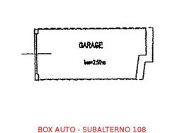 Box auto seminterrato (sub 108) - Lotto 896 (Asta 896)