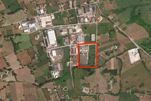 Immagine n1 - Planimetria - Vista aerea - Asta 8960