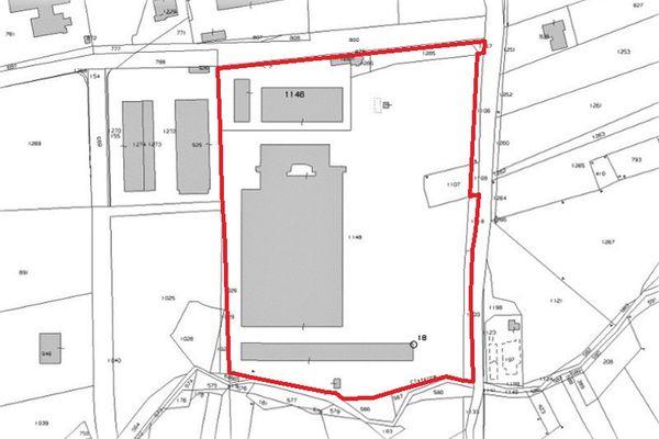 Immagine n1 - Planimetria - Estratto di mappa - Asta 8960
