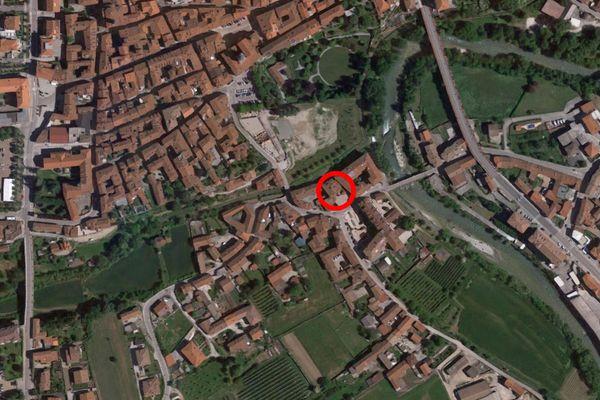 Immagine n0 - Planimetria - Vista aerea - Asta 8962