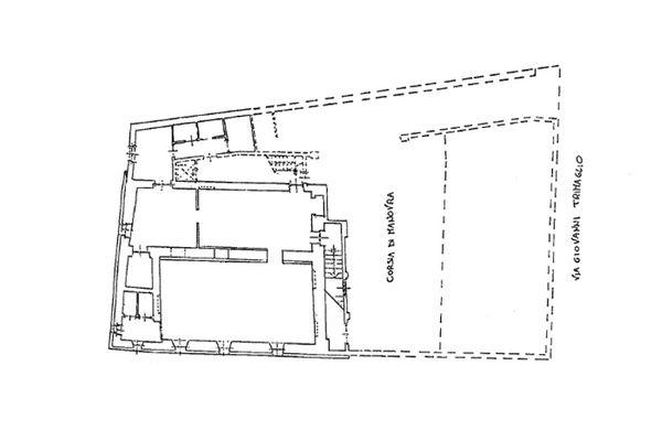 Immagine n0 - Planimetria - Piano interrato - Asta 8962