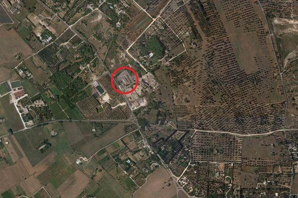 Immagine n0 - Planimetria - Vista aerea - Asta 8967