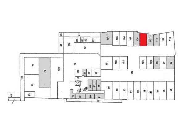 Immagine n1 - Planimetria - Piano seminterrato - Asta 897