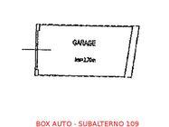 Immagine n0 - Box auto seminterrato (sub 109) - Asta 897
