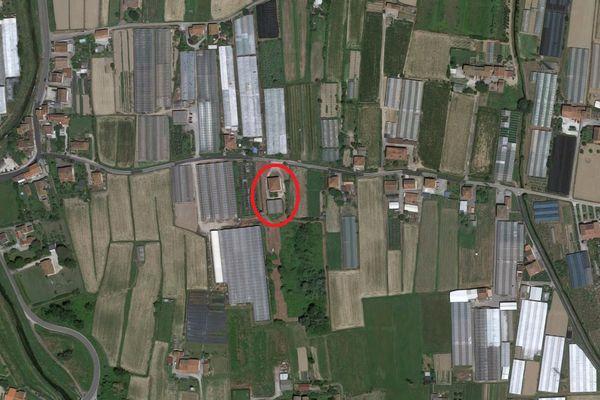 Immagine n0 - Planimetria - Vista aerea - Asta 8973