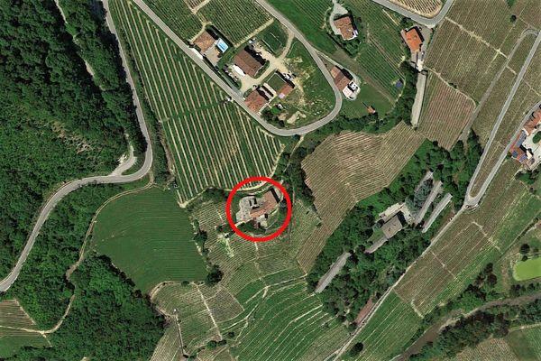 Immagine n0 - Planimetria - Vista aerea - Asta 8983