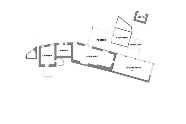 Immagine n1 - Planimetria - Piano primo interrato - Asta 8983