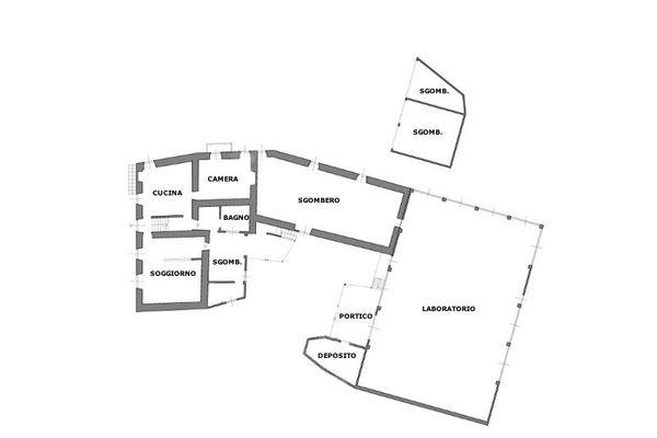 Immagine n2 - Planimetria - Piano terra - Asta 8983