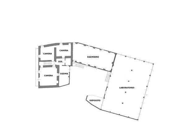 Immagine n3 - Planimetria - Piano primo - Asta 8983
