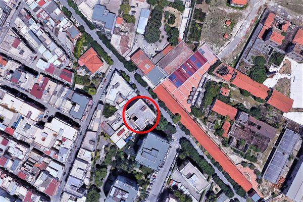 Immagine n0 - Planimetria - Vista aerea - Asta 8989