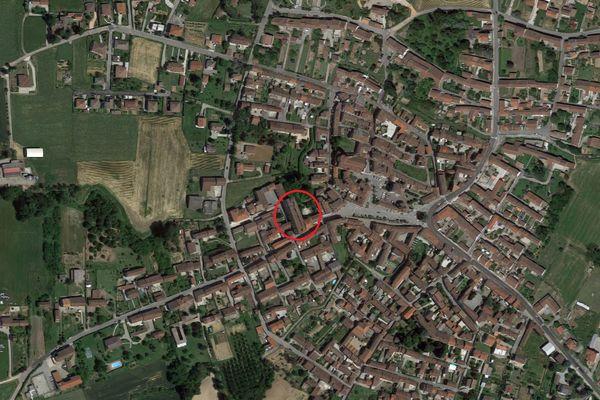 Immagine n0 - Planimetria - Vista aerea - Asta 8993