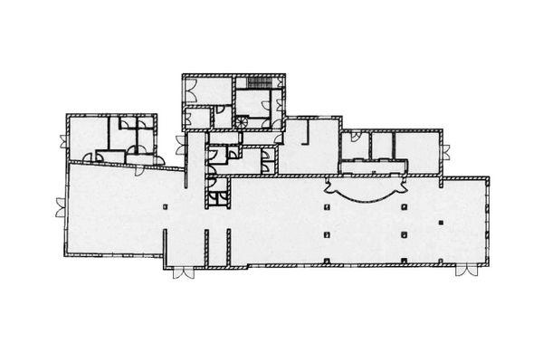 Immagine n1 - Planimetria - Piano terra ristorante - Asta 9009
