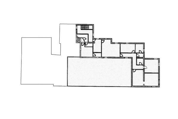Immagine n2 - Planimetria - Piano primo ristorante - Asta 9009