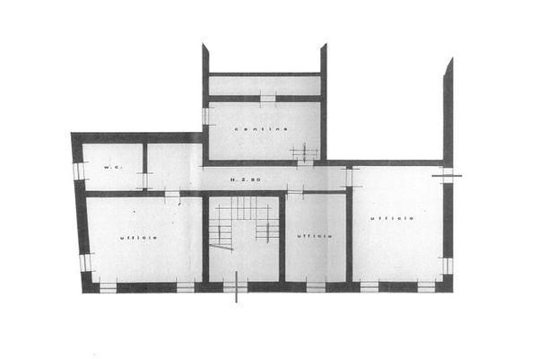 Immagine n1 - Planimetria - Piano terra - Asta 9017