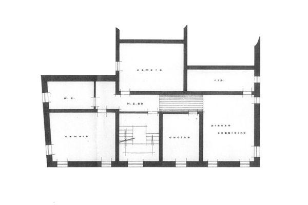 Immagine n2 - Planimetria - Piano primo - Asta 9017