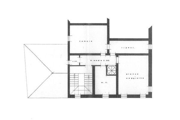 Immagine n3 - Planimetria - Piano secondo - Asta 9017