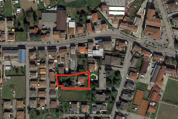 Immagine n1 - Planimetria - Vista aerea - Asta 9018