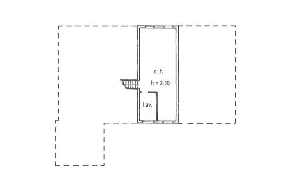 Immagine n3 - Planimetria - Piano interrato - Asta 9018