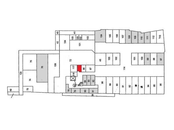Immagine n1 - Planimetria - Piano seminterrato - Asta 902