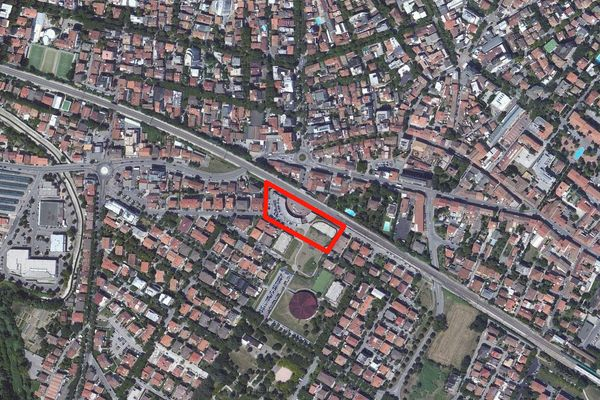 Immagine n0 - Planimetria - Vista aerea - Asta 903