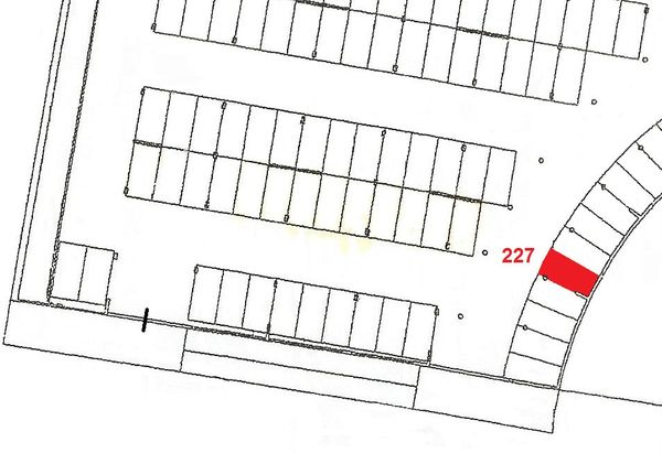 Immagine n1 - Planimetria - Piano primo sottostrada - Asta 906
