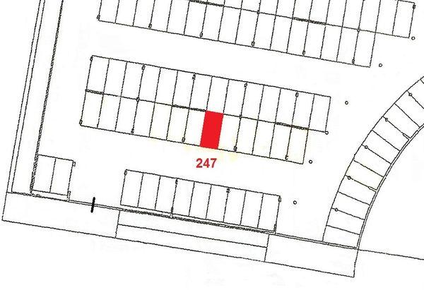 Immagine n1 - Planimetria - Piano primo sottostrada - Asta 910