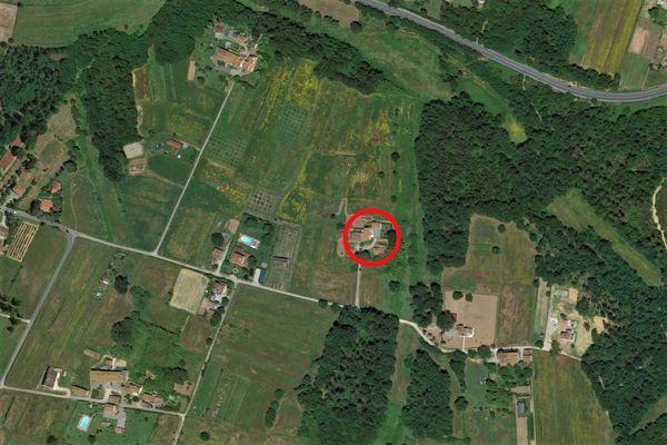 Immagine n0 - Planimetria - Vista aerea - Asta 9106