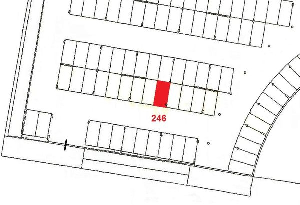 Immagine n1 - Planimetria - Piano primo sottostrada - Asta 911