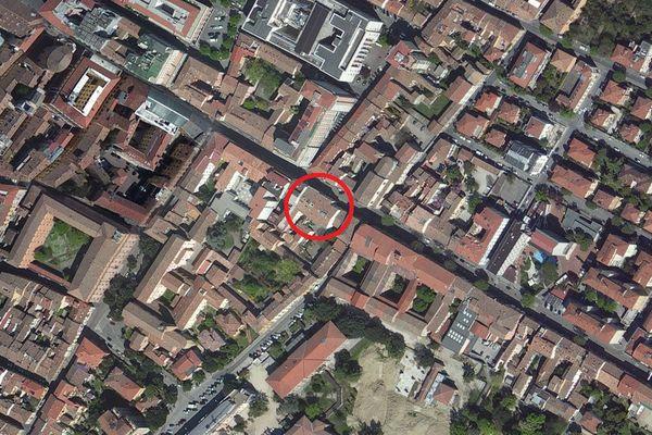Immagine n0 - Planimetria - Vista aerea - Asta 9119