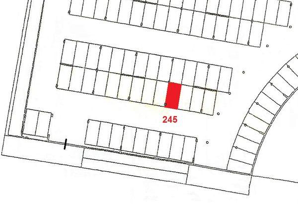 Immagine n1 - Planimetria - Piano primo sottostrada - Asta 913