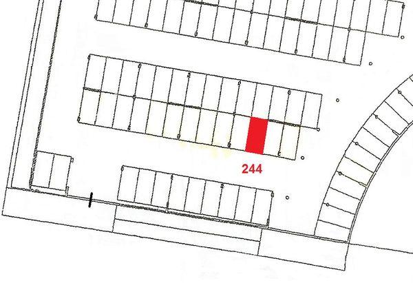 Immagine n1 - Planimetria - Piano primo sottostrada - Asta 914