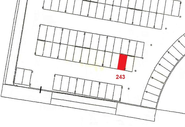 Immagine n1 - Planimetria - Piano primo sottostrada - Asta 915