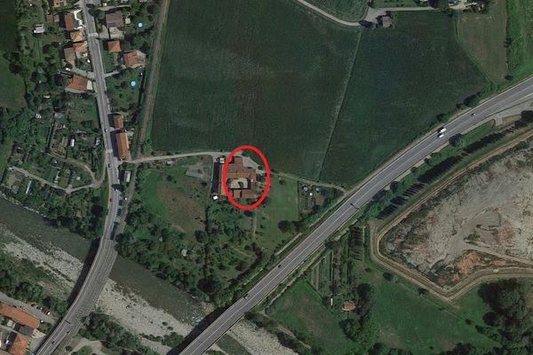 Immagine n0 - Planimetria - Vista aerea - Asta 9152