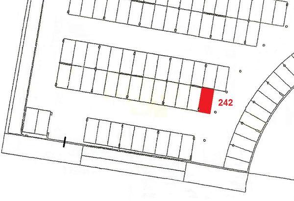 Immagine n1 - Planimetria - Piano primo sottostrada - Asta 916