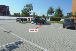 Uncovered parking space on the ground floor   sub    - Lot 9161 (Auction 9161)