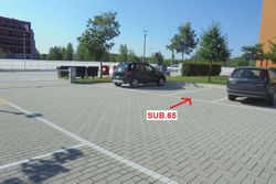 Uncovered parking space on the ground floor   sub    - Lot 9162 (Auction 9162)
