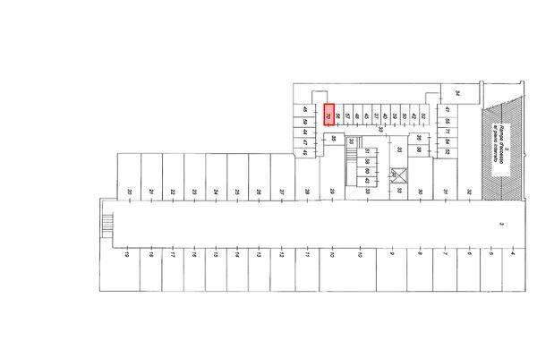 Immagine n1 - Planimetria - Piano interrato - Asta 9164