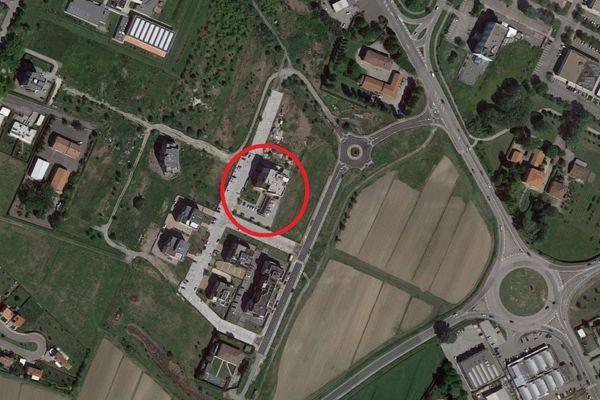 Immagine n2 - Planimetria - Vista aerea - Asta 9165