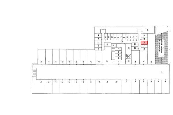 Immagine n1 - Planimetria - Piano interrato - Asta 9165