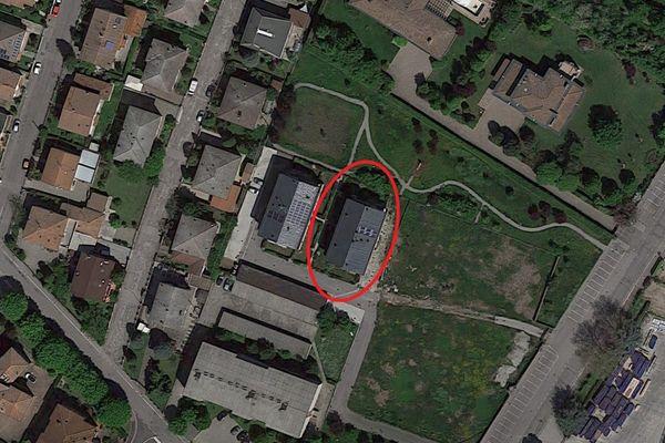 Immagine n1 - Planimetria - Vista aerea - Asta 9175