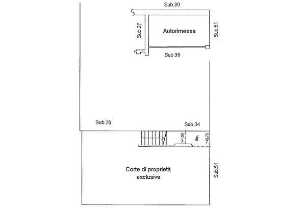 Immagine n0 - Planimetria - Piano terra - Asta 9175