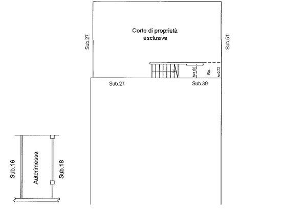 Immagine n0 - Planimetria - Piano terra - Asta 9177