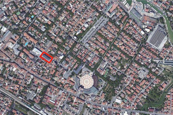 Immagine n0 - Planimetria - Vista aerea - Asta 918