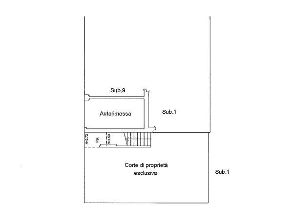 Immagine n1 - Planimetria - Piano terra - Asta 9190