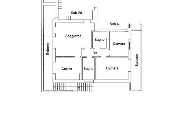 Immagine n2 - Planimetria - Piano primo - Asta 9190