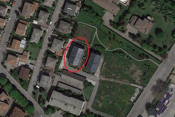 Immagine n1 - Planimetria - Vista aerea - Asta 9192