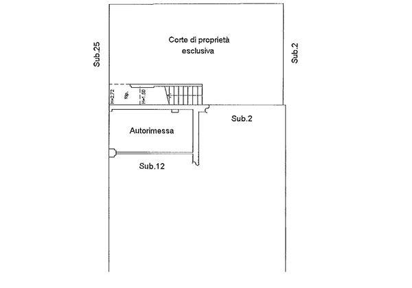 Immagine n1 - Planimetria - Piano terra - Asta 9192