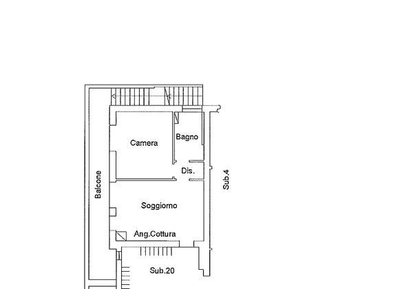 Immagine n2 - Planimetria - Piano primo - Asta 9192