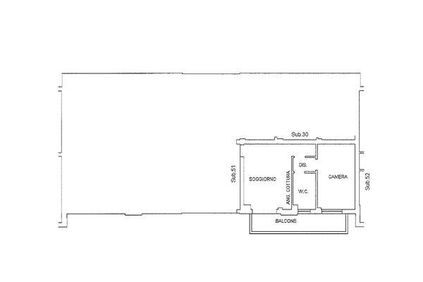 Immagine n1 - Planimetria - Piano primo - Asta 9199